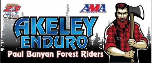 Akeley Enduro August 17th & 18th
