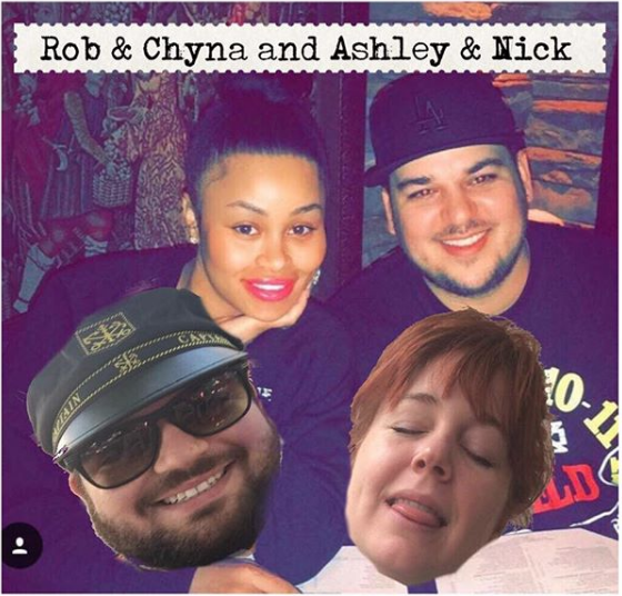 - Comedians and live-in couple Ashley Brooke Roberts and Nick Maritato offer a biased and partially informed recap of America's second favorite couple. That's right, we're reviewing the highly anticipated, groundbreaking docu-series Rob and Chyna. This is important.