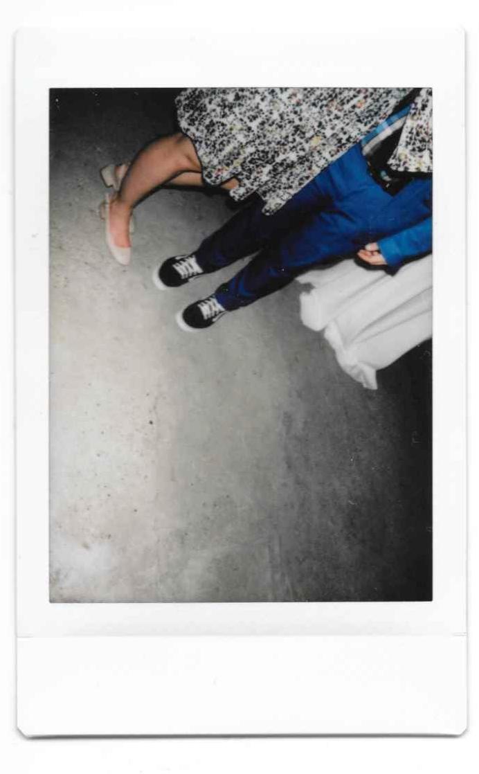 Some feet -