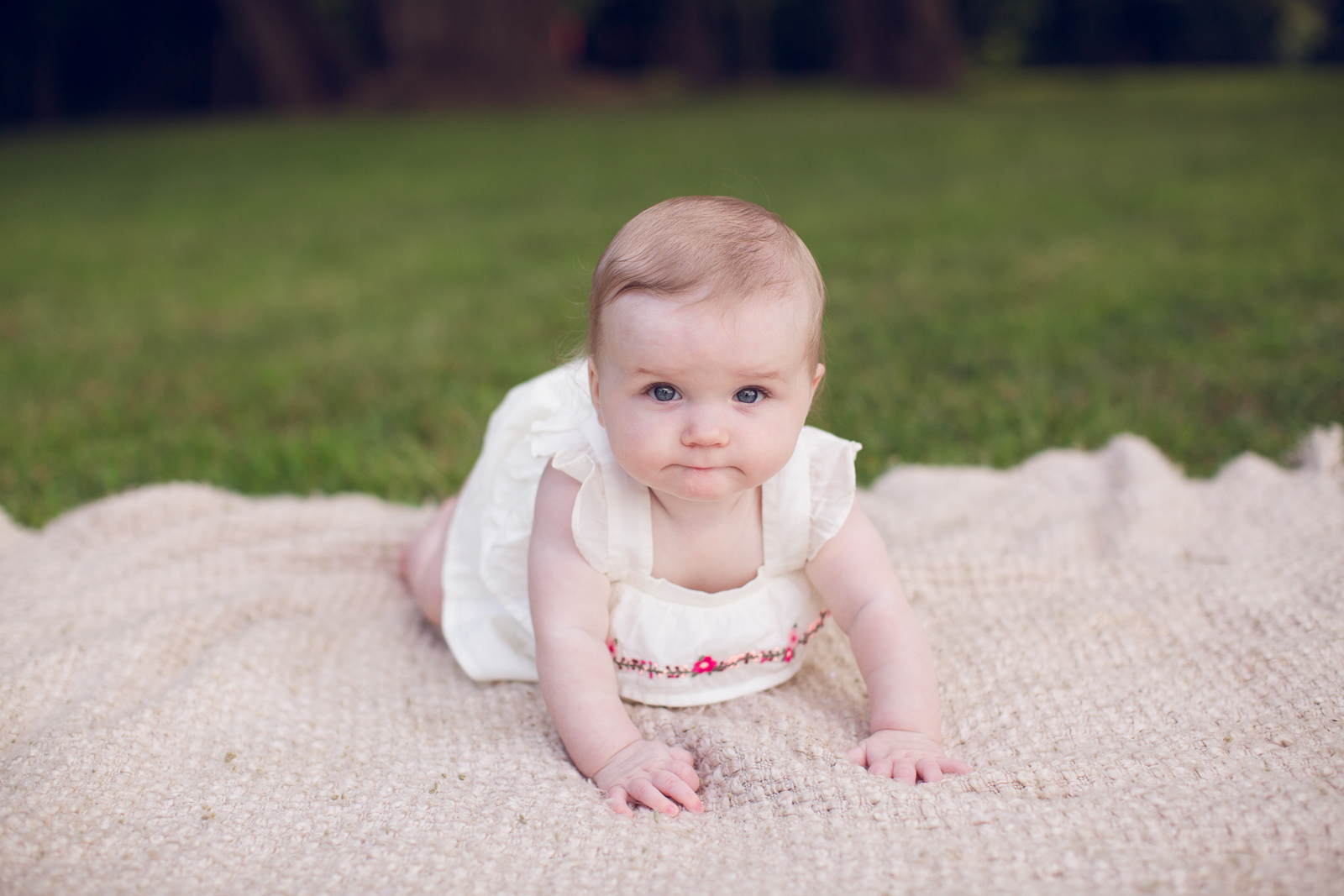 Hattie 6 month photographer lafayette indiana milestone photographer-15.jpg
