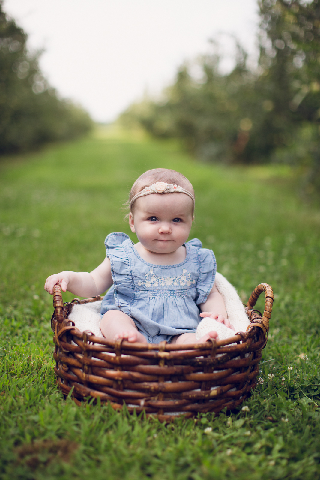 Hattie 6 month photographer lafayette indiana milestone photographer-18.jpg