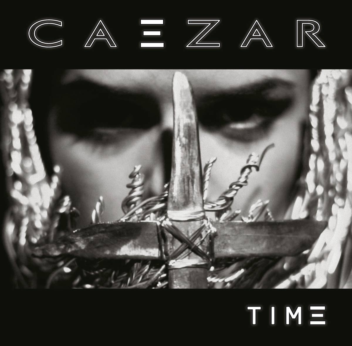 Caezar's debut album cover featuring a still from the video.