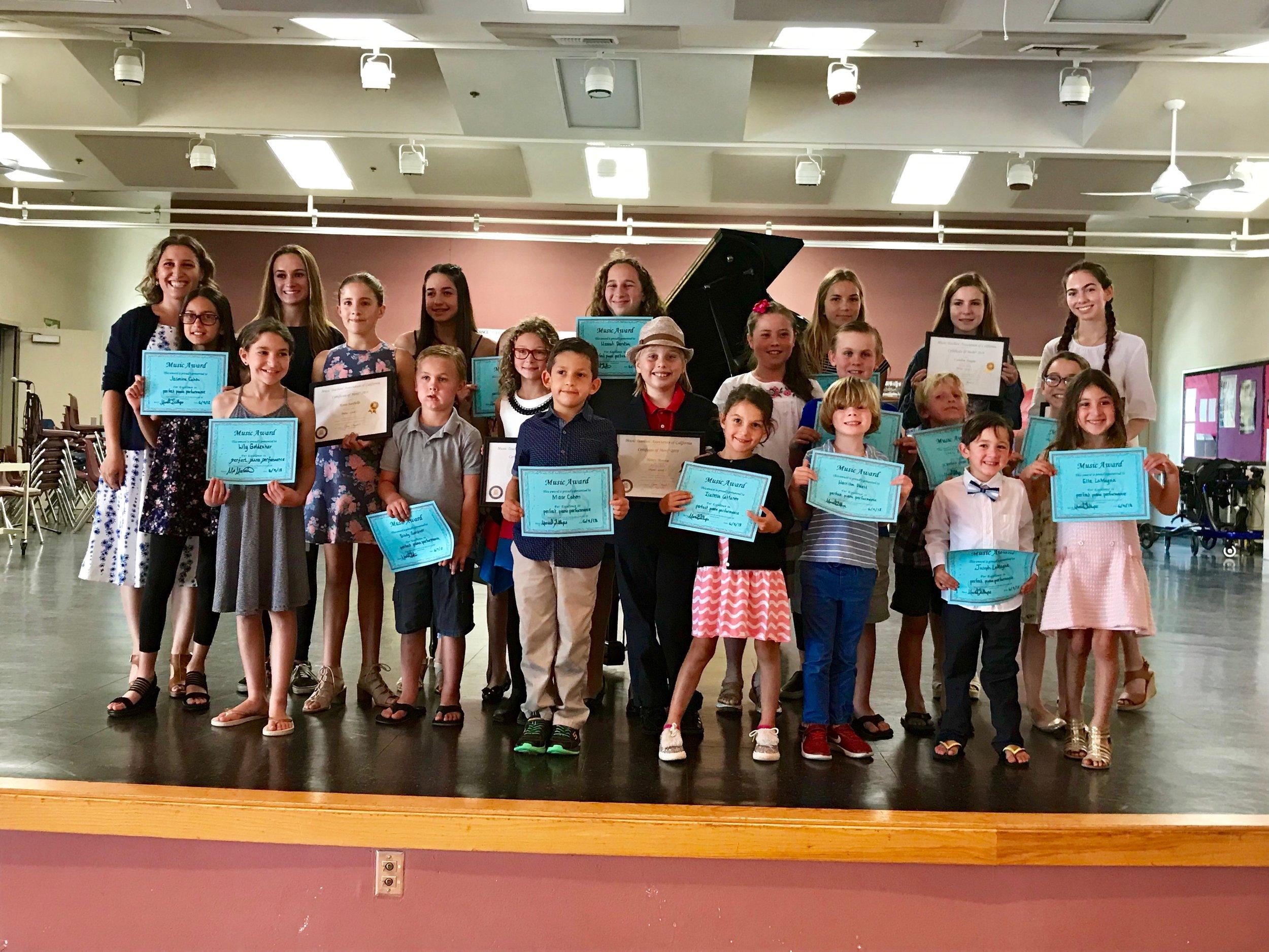 Spring Recital 2018 at Coronado Middle School