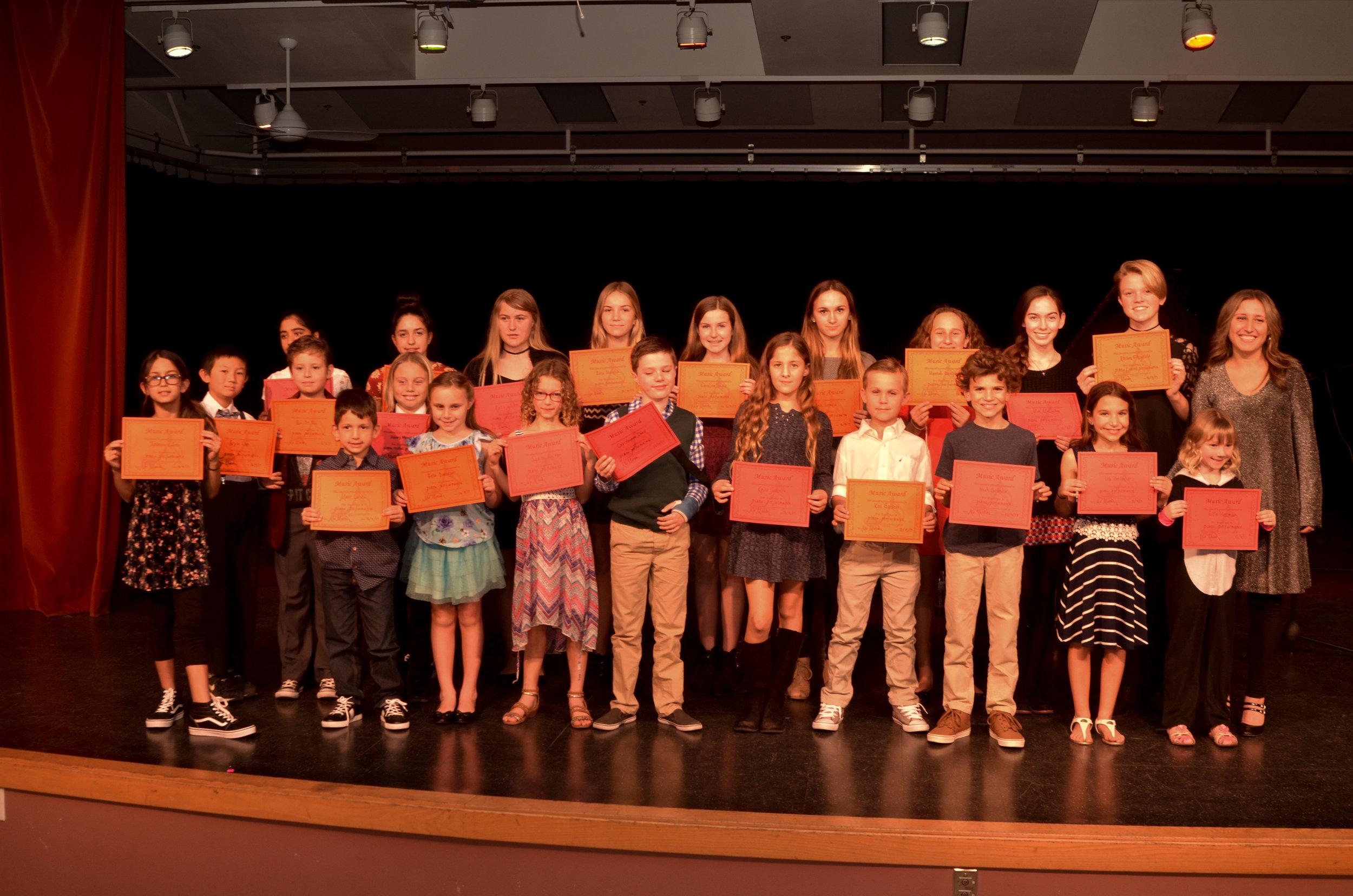 Winter Recital 2017 at Coronado Middle School