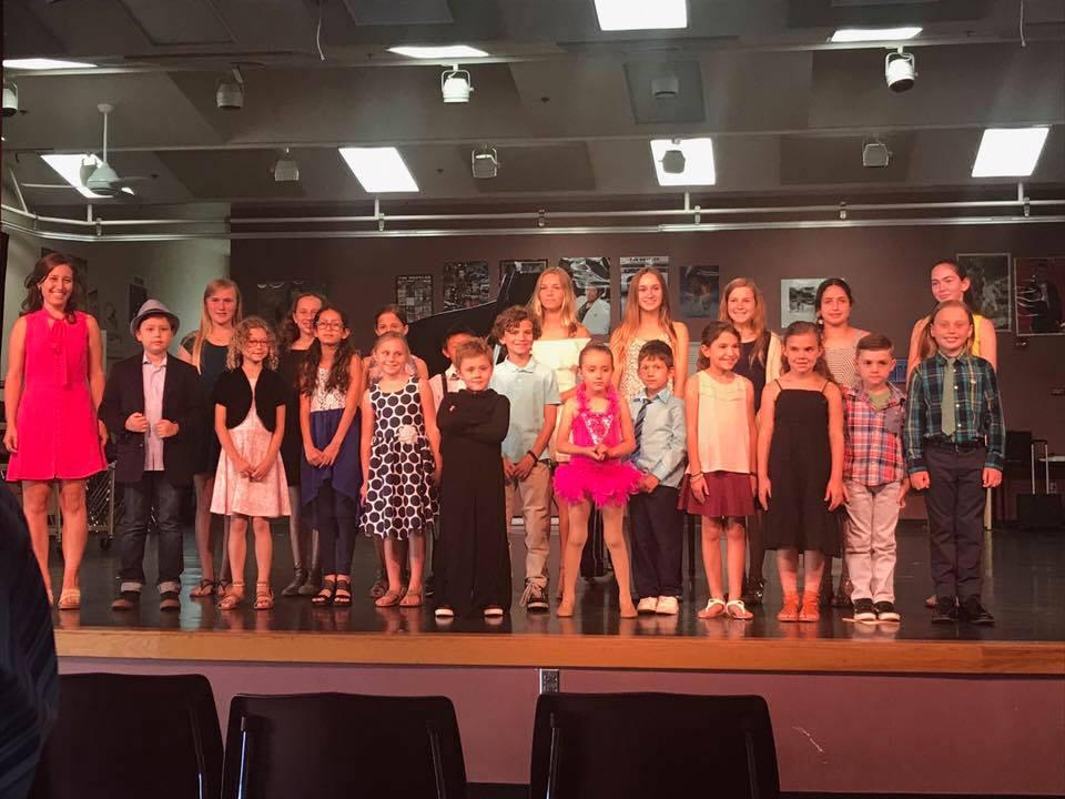 Spring Recital 2017 at Coronado Middle School