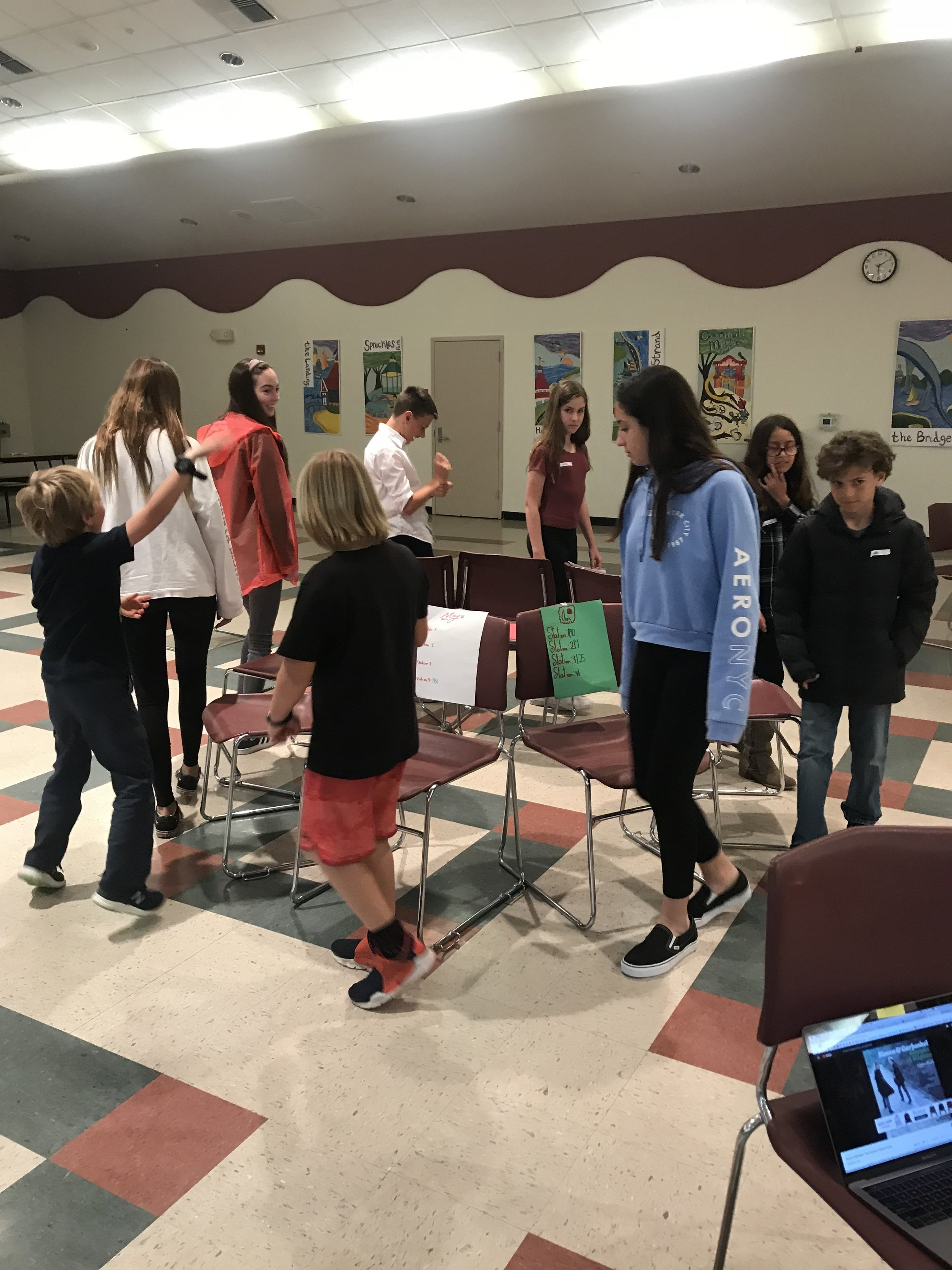 Playing Musical Chairs at a Music Workshop