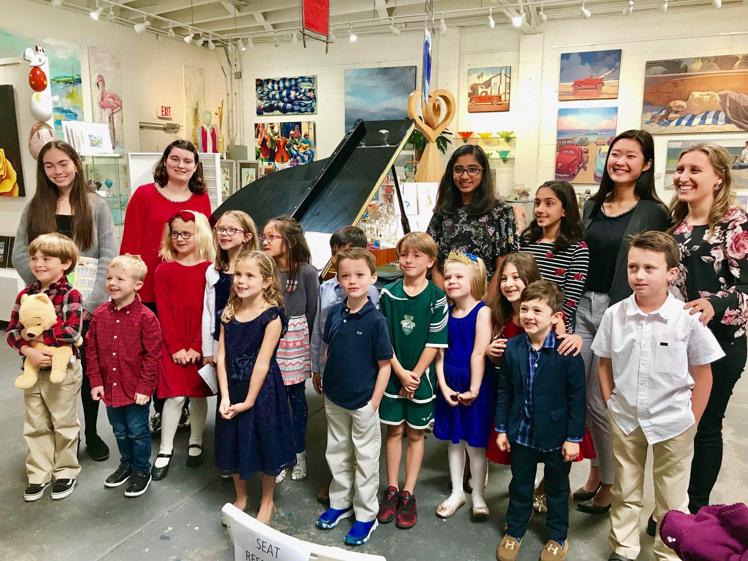 December 2018 (Group A) at Emerald C Gallery in Coronado