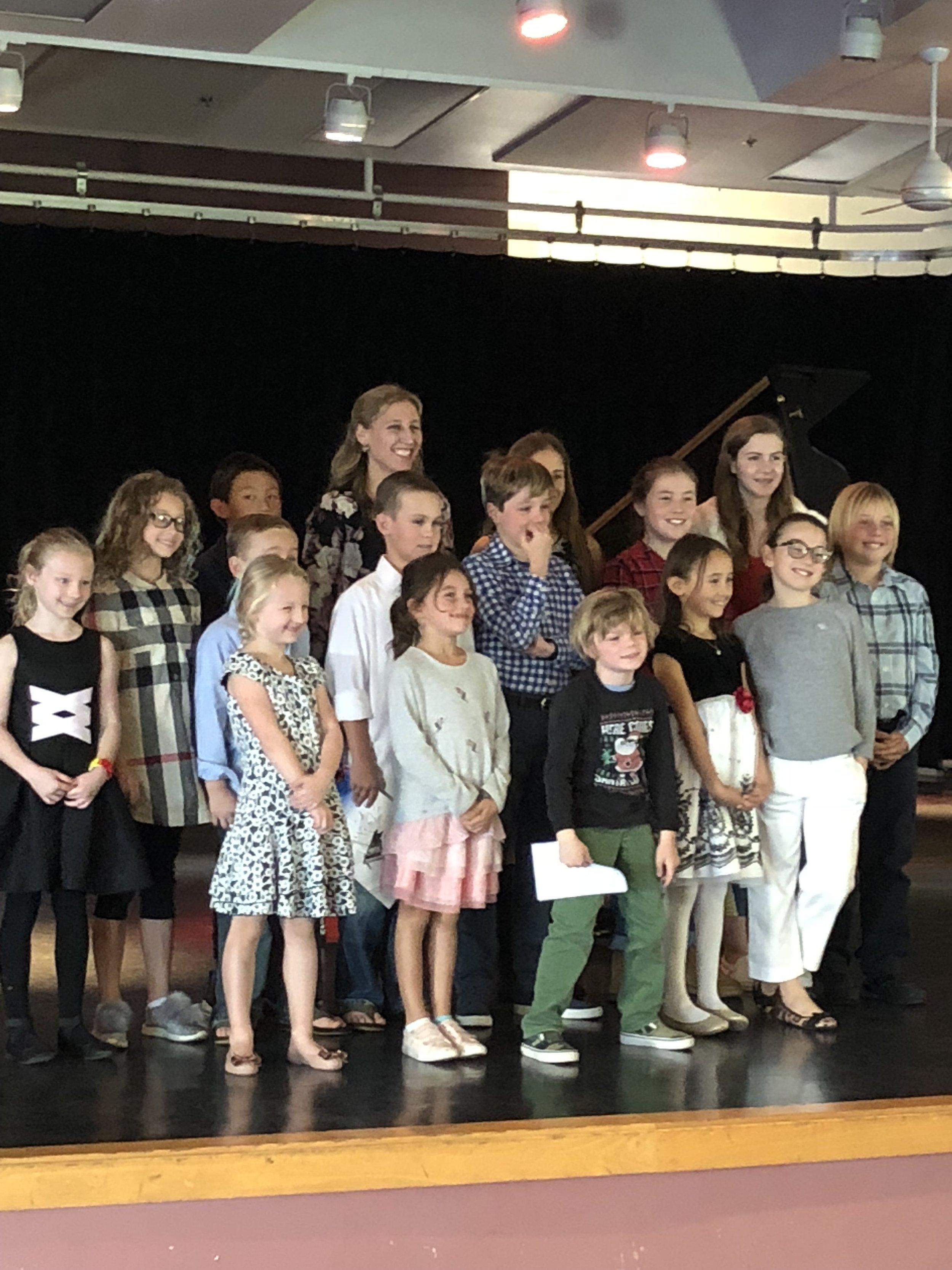 Winter 2018 (Group B) at Coronado Middle School