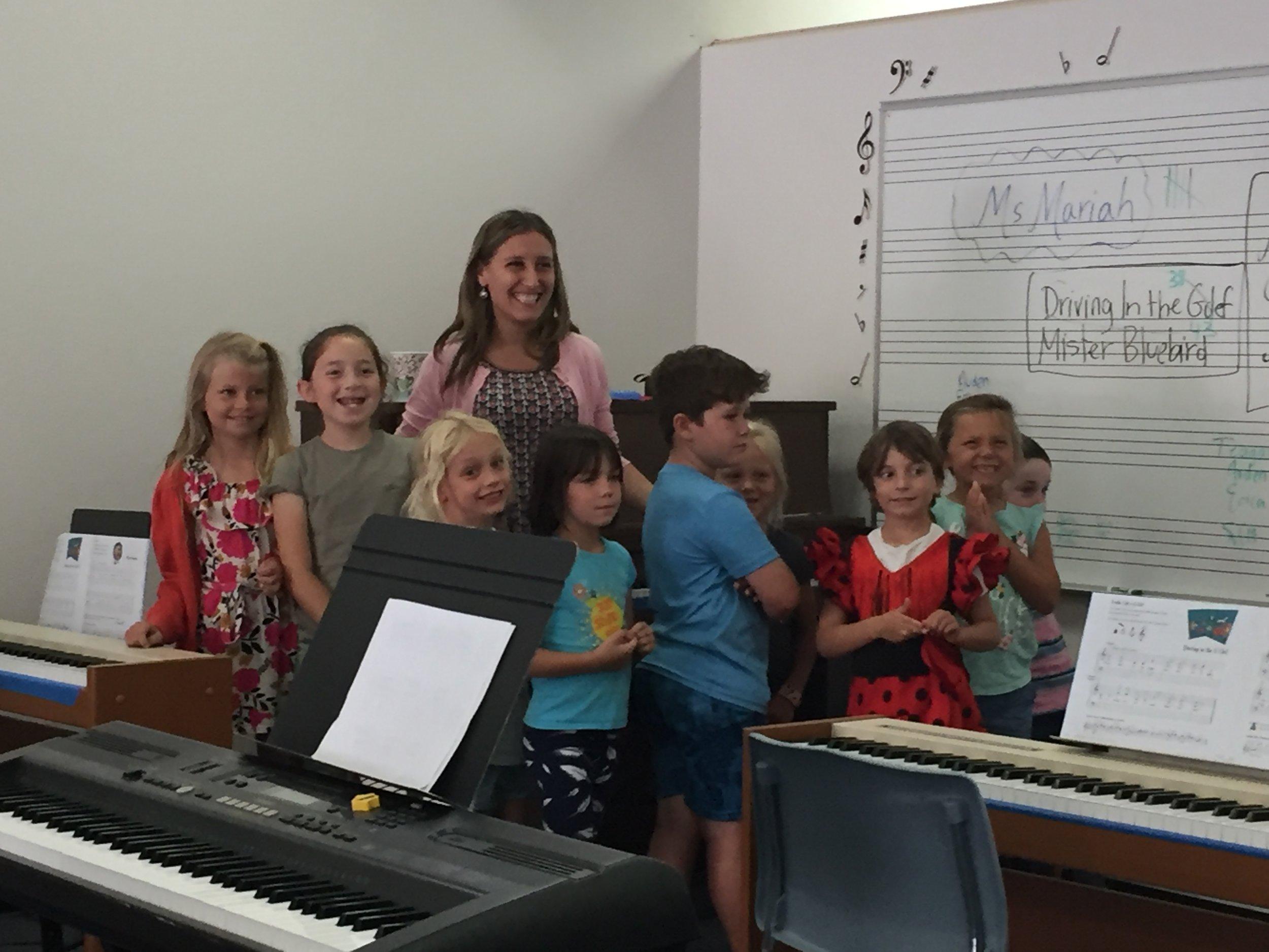 Summer Enrichment Class with Coronado Schools Foundation (CSF) June 2019