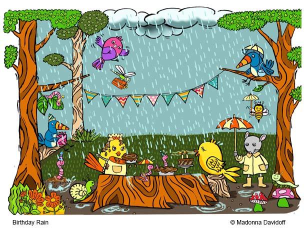 Birthday Rain