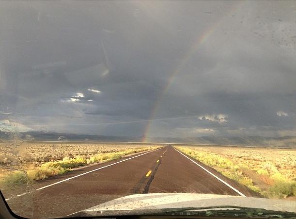 Rainbow. White Pine County, NV.