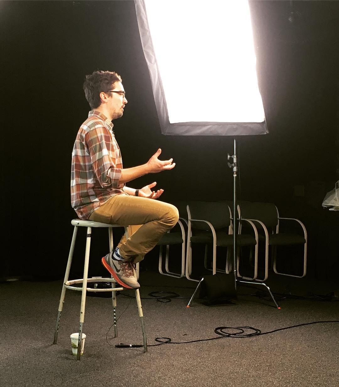 Interview, 2016.