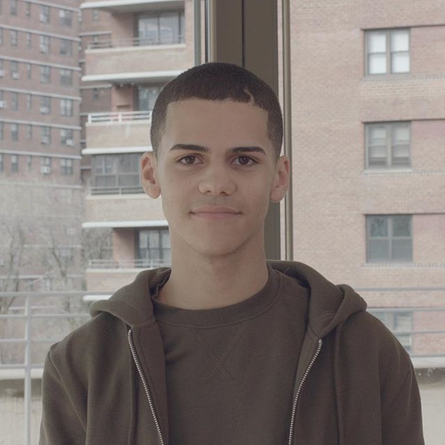 """If I were the President, the first issue I would want to tackle is affordable housing definitely for urban areas. Like our neighborhoods which were once this big, our small neighborhoods are becoming smaller and smaller and smaller. And now we'll be stuck in a little circle where we have nowhere to go."" - Jaden, 17 years old (Film still by @aimeekhoffman)"