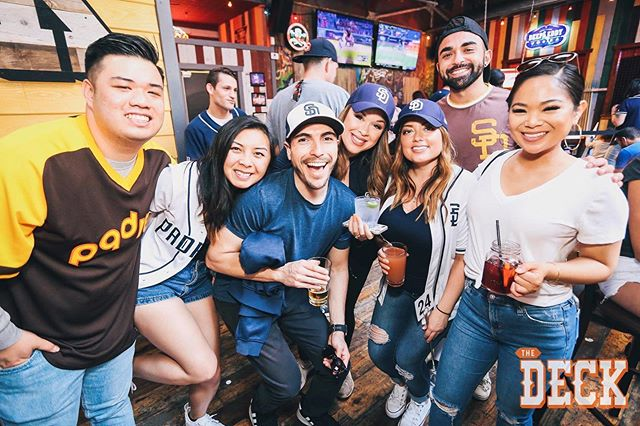 Squad up! Pregame with $5 happy specials then @jamesonwhiskey all night long! #deckpic