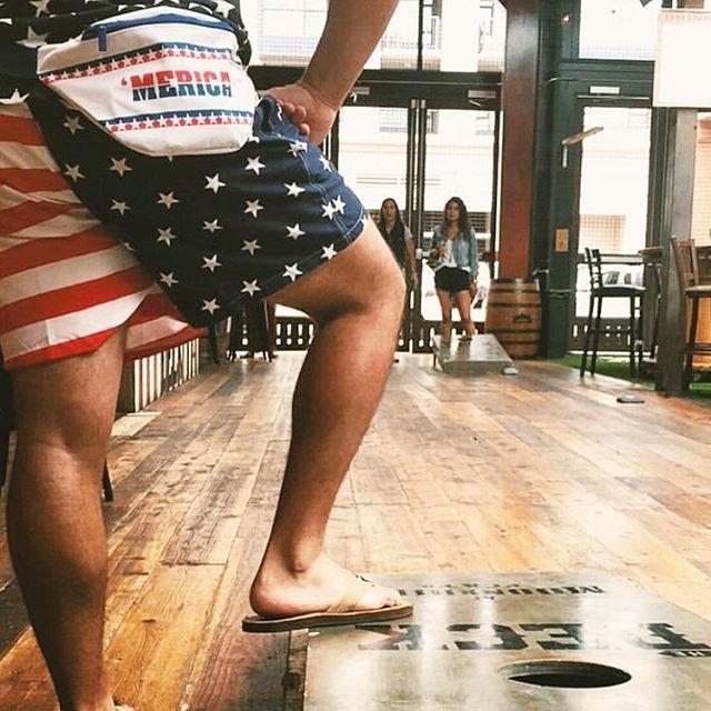 USA Shorts: $20 'Merica Fanny Pack: $12 Celebrating America's bday: PRICELESS 🇺🇸🇺🇸🇺🇸