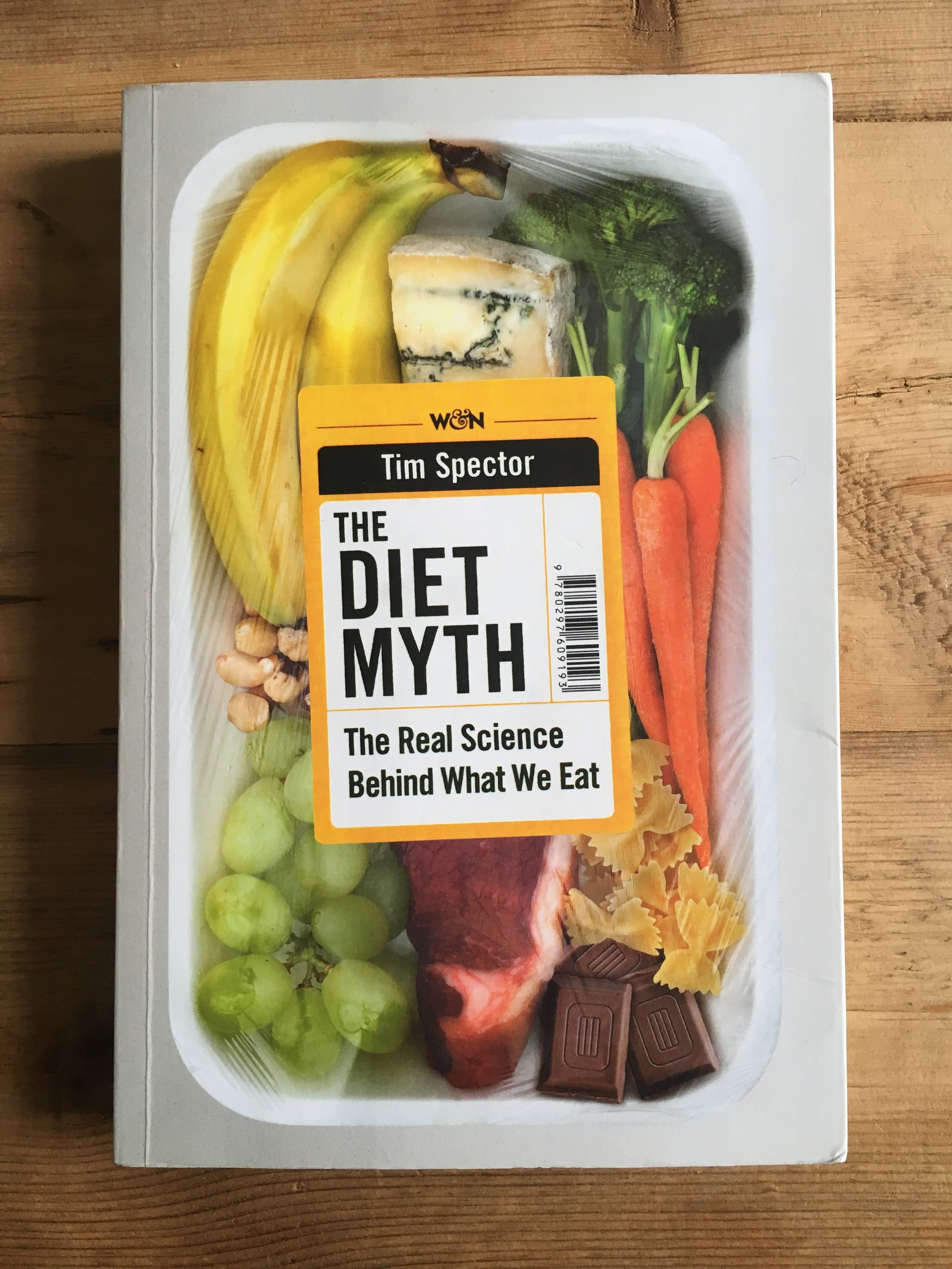 The Diet Myth - Tim Spector heads up the British Gut Project and has done fascinating research into the human biome - the vast ecosystem of bacteria and microbes living on and in us which we rely on for our survival. This book is a must-read for anyone interested in food and health.