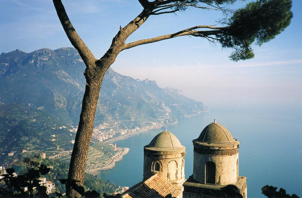 View from Ravello, on Italy's Amalfi Coast