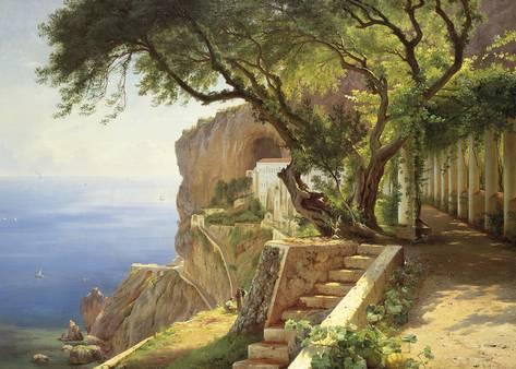 Carl Frederic Aagaard, Pergola in Amalfi