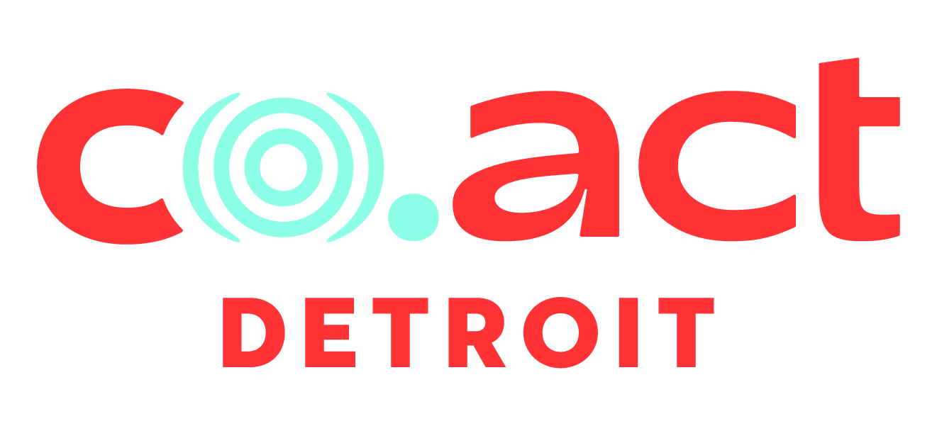 Thank you to  Co.Act Detroit  for our pre-event social sponsor.