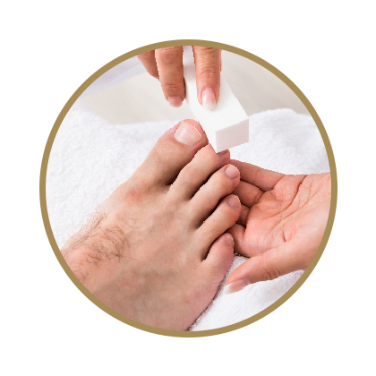 Men's Nail Care -