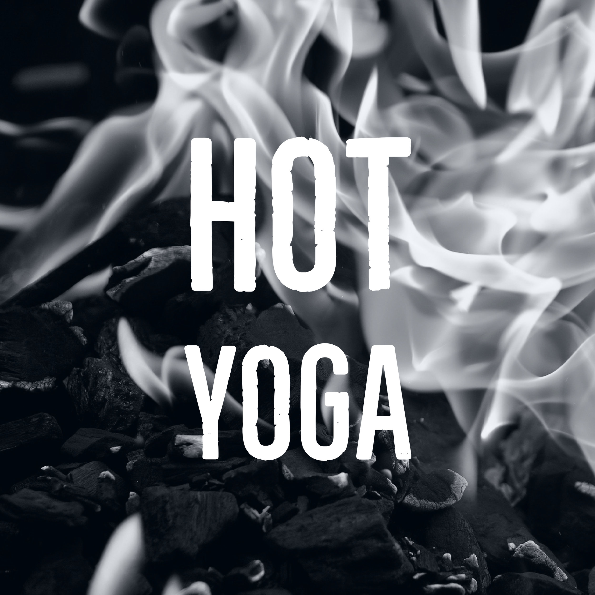 Hot Yoga - Hot Yoga is a one hour class with an athletic style of vinyasa (flow) yoga practiced in a room heated to 85-95 degrees. Static postures are linked together through flowing transitions and mindful movement. This class is designed to build strength, balance, flexibility and muscular endurance.