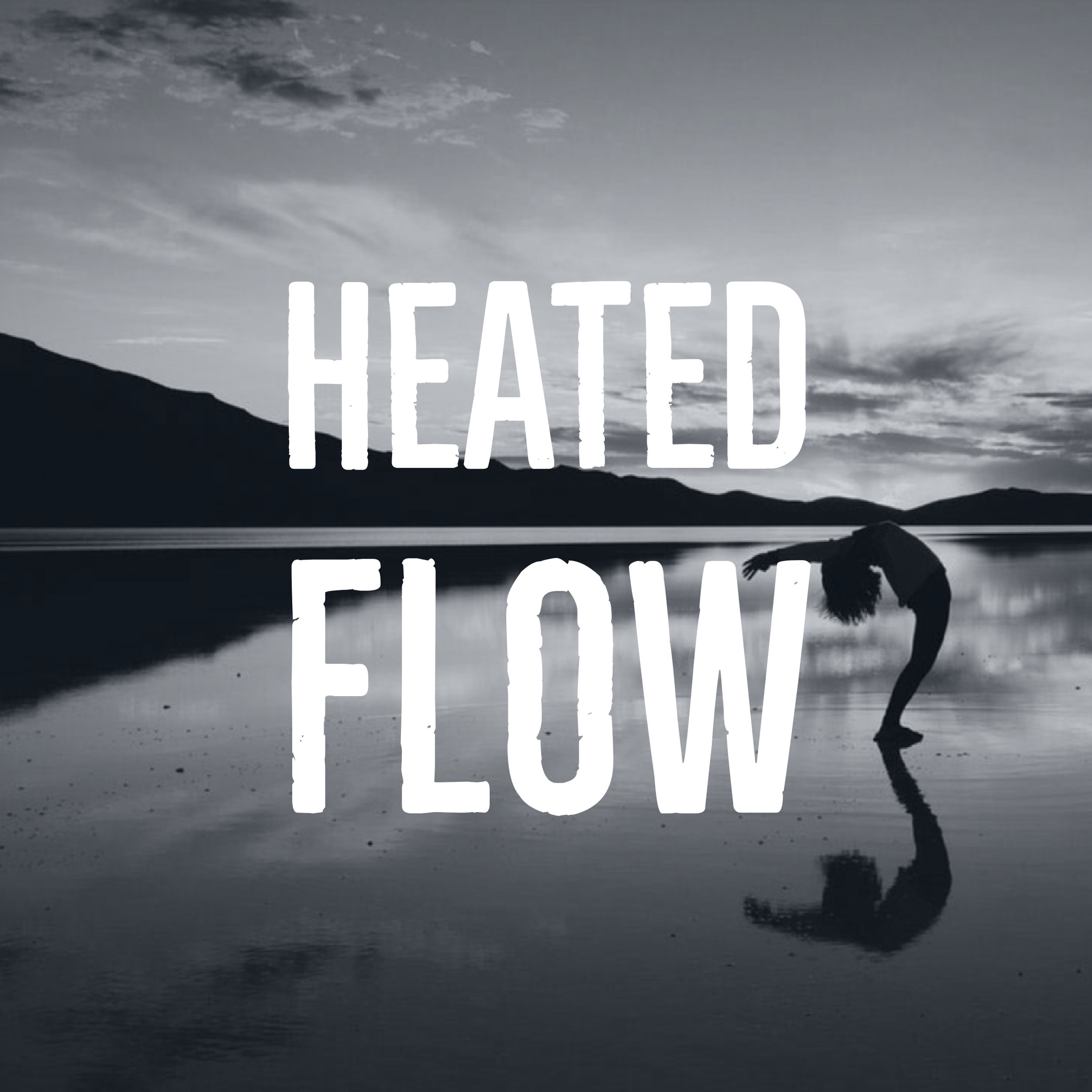Heated Flow - This one hour class is held in a room heated to 85-95 degrees. Heated Flow will fire up your core strength as you flow through demanding yoga sequences. You will build heat from within by connecting breath & movement at a moderate but intuitive pace. Strength, flexibility and balance is achieved through vinyasa flow movement.