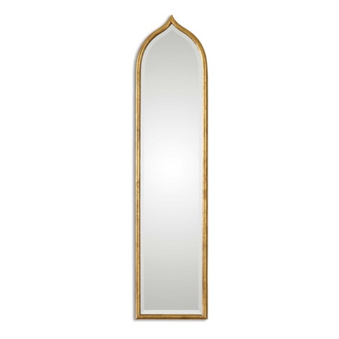 "Contemporary gold mirror 12"" by 50"" $295.00.jpeg"