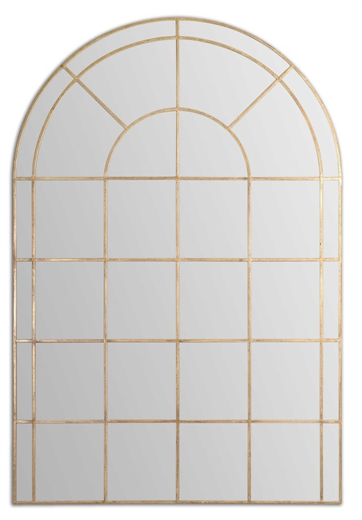 "Large arch window gold mirror 48"" by 72.jpeg"