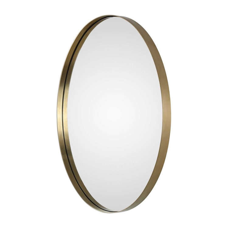 "Small brushed brass oval mirror 20"" by 30.jpeg"