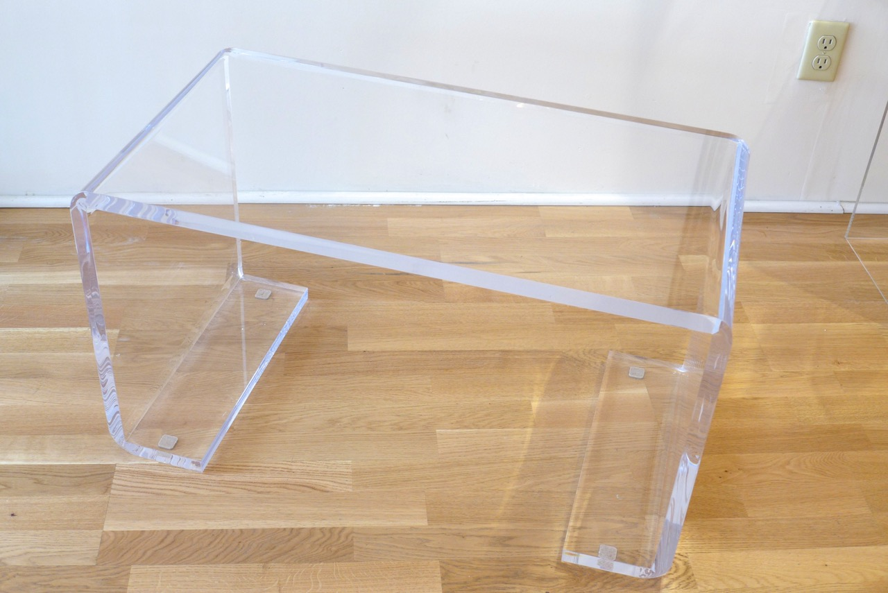 Decorum Custom Lucite Curved Leg Bench.jpeg