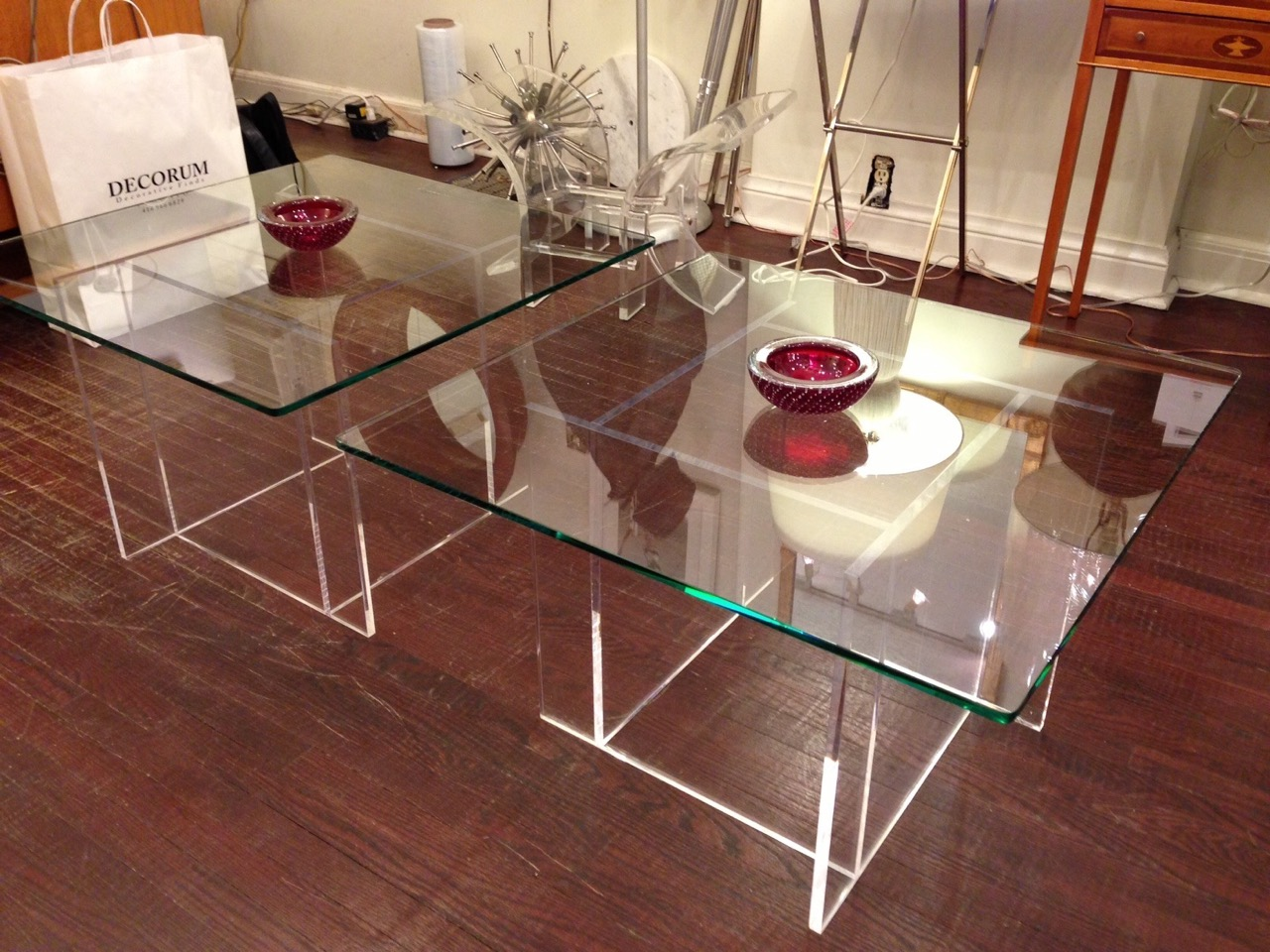 Decorum Custom Lucite glass Cocktail Tables.jpeg
