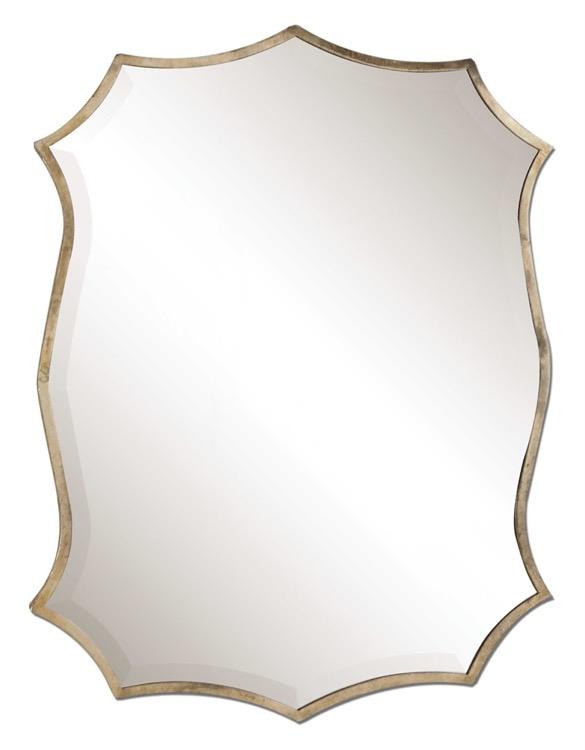 "Petite Oxidized Nickel Bevelled Mirror 23"" X 25.jpeg"