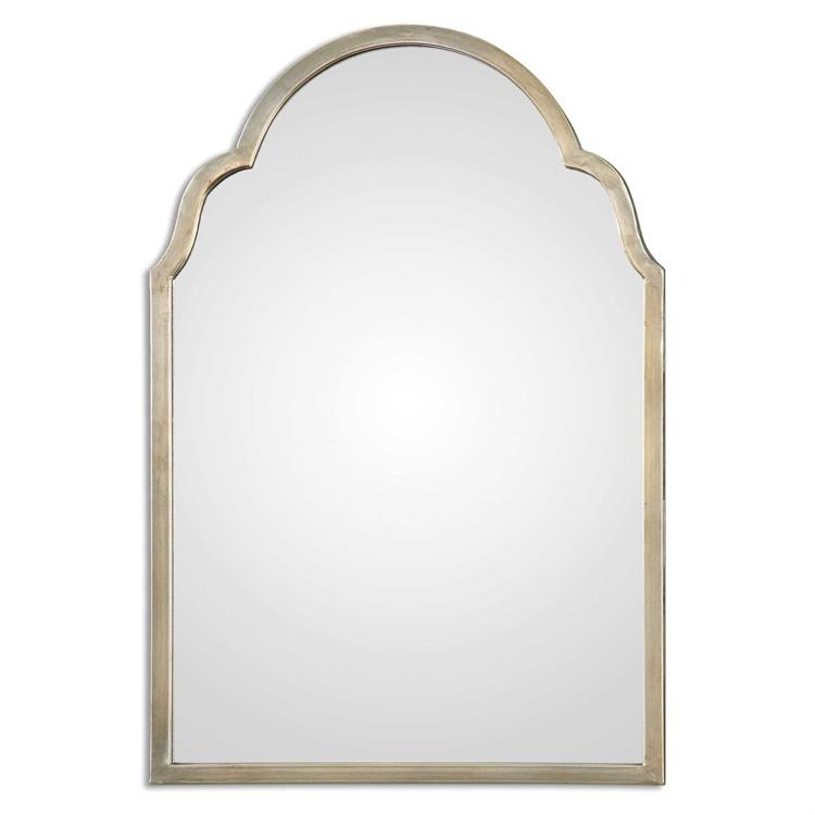 "Petite warm silver arch mirror 20"" by 30.jpeg"