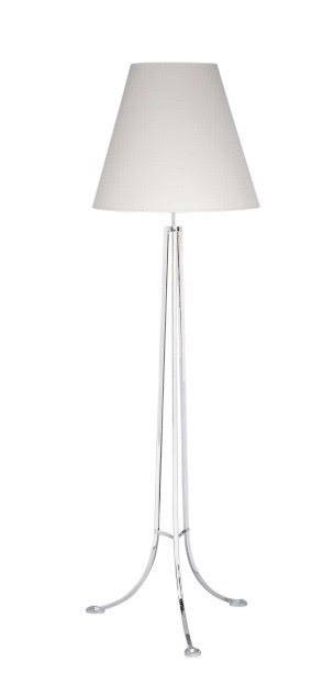 Contemporary silver plated floor lamp (can be ordered).jpg