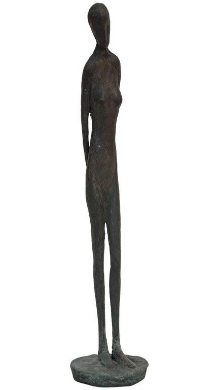 """Jack Culiner Bronze  (1970's) 14.75"""" by 3.23.jpg"""