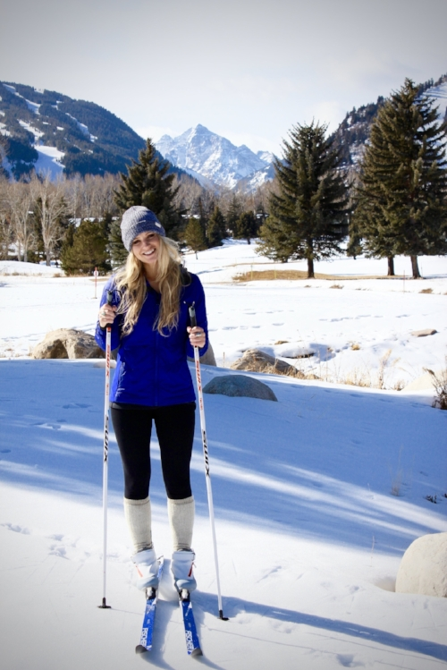 Aspen Nordic Center rents both skate and classic x-country skis