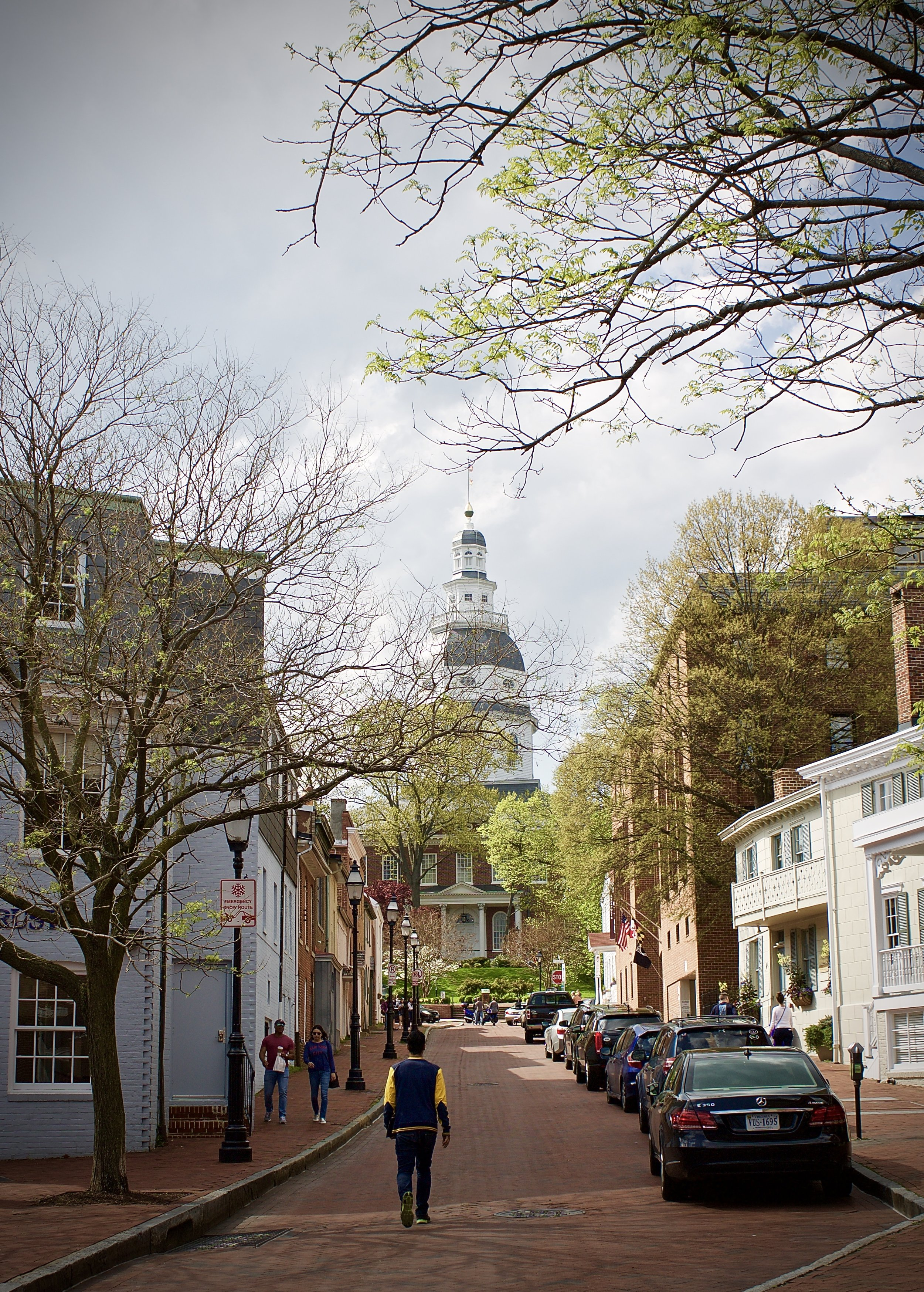 Brick pavers and narrow streets + cute shops. My favorite was The Annapolis Pottery (click   here   to check them out)