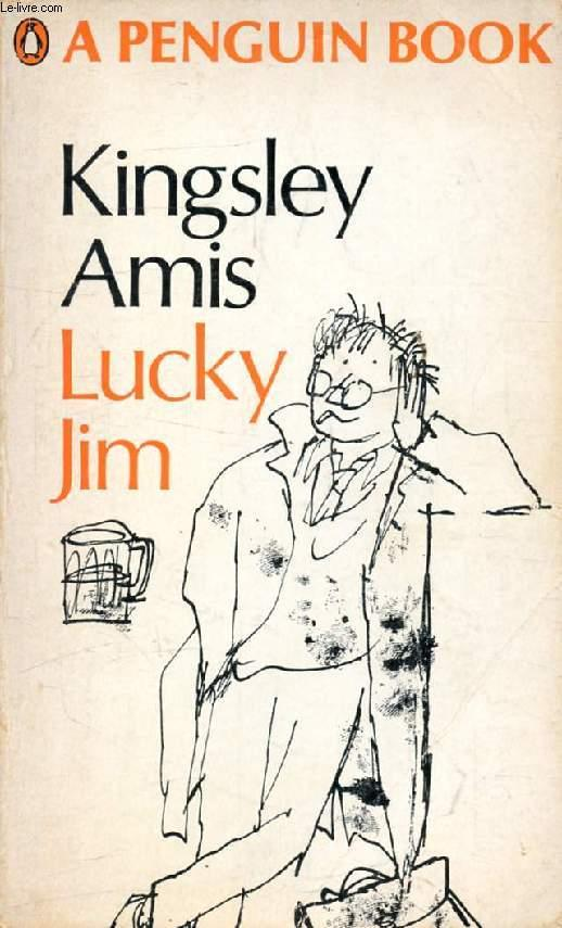 Lucky Jim, cover illustration by Quentin Blake
