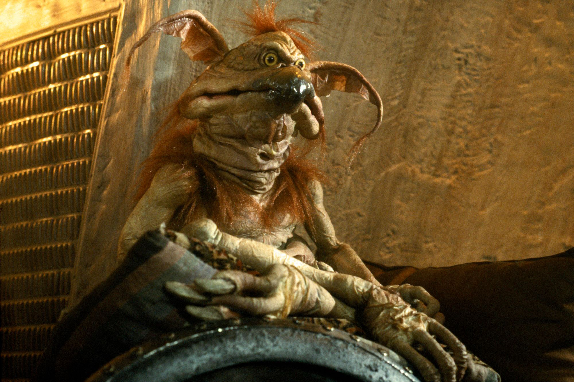 """See you in your dreams"" - Salacious Crumb"