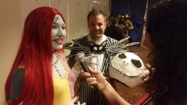 Amanda and John Summer - AKA - Jack and Sally from Nightmare Before Christmas