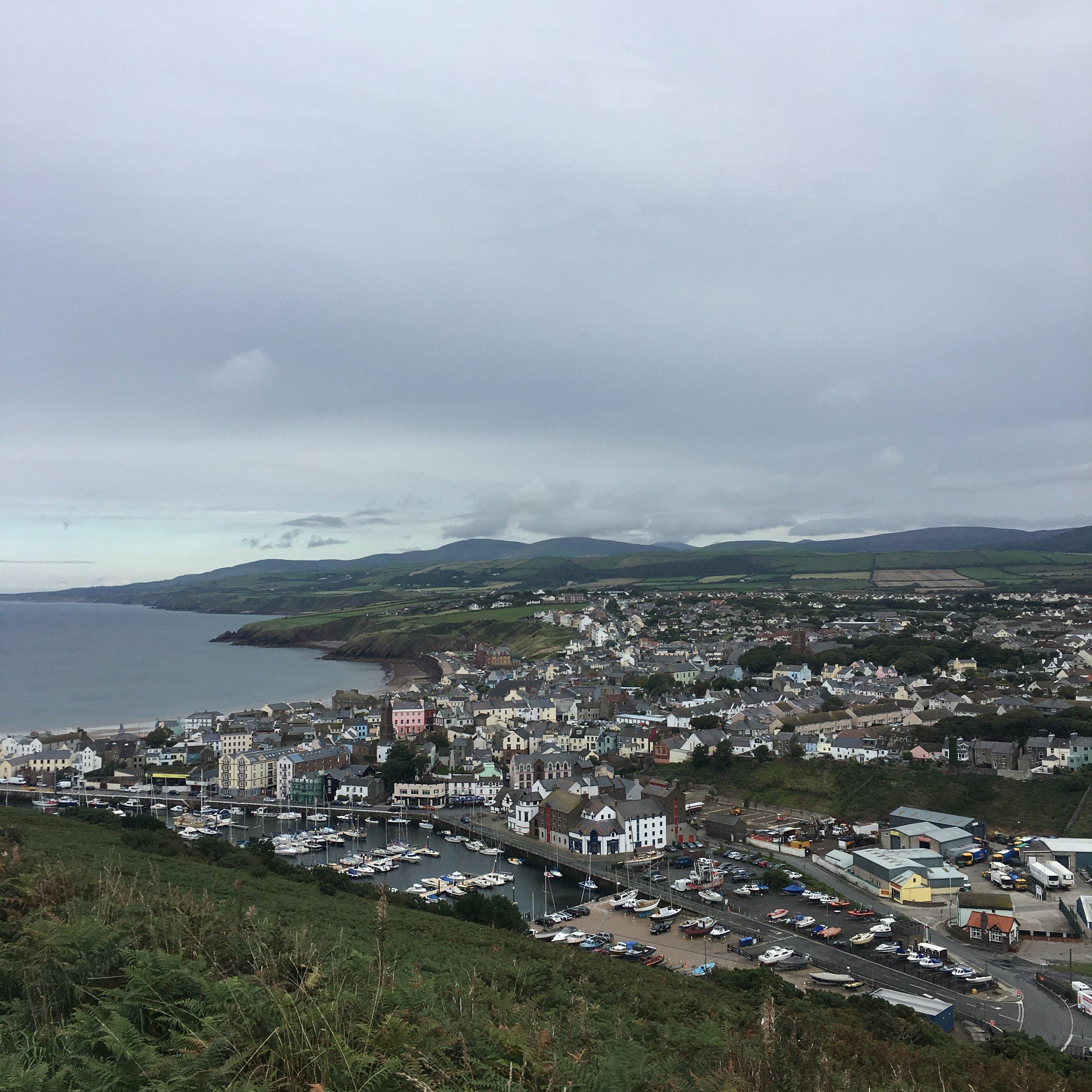 Town of Peel, Isle of Man