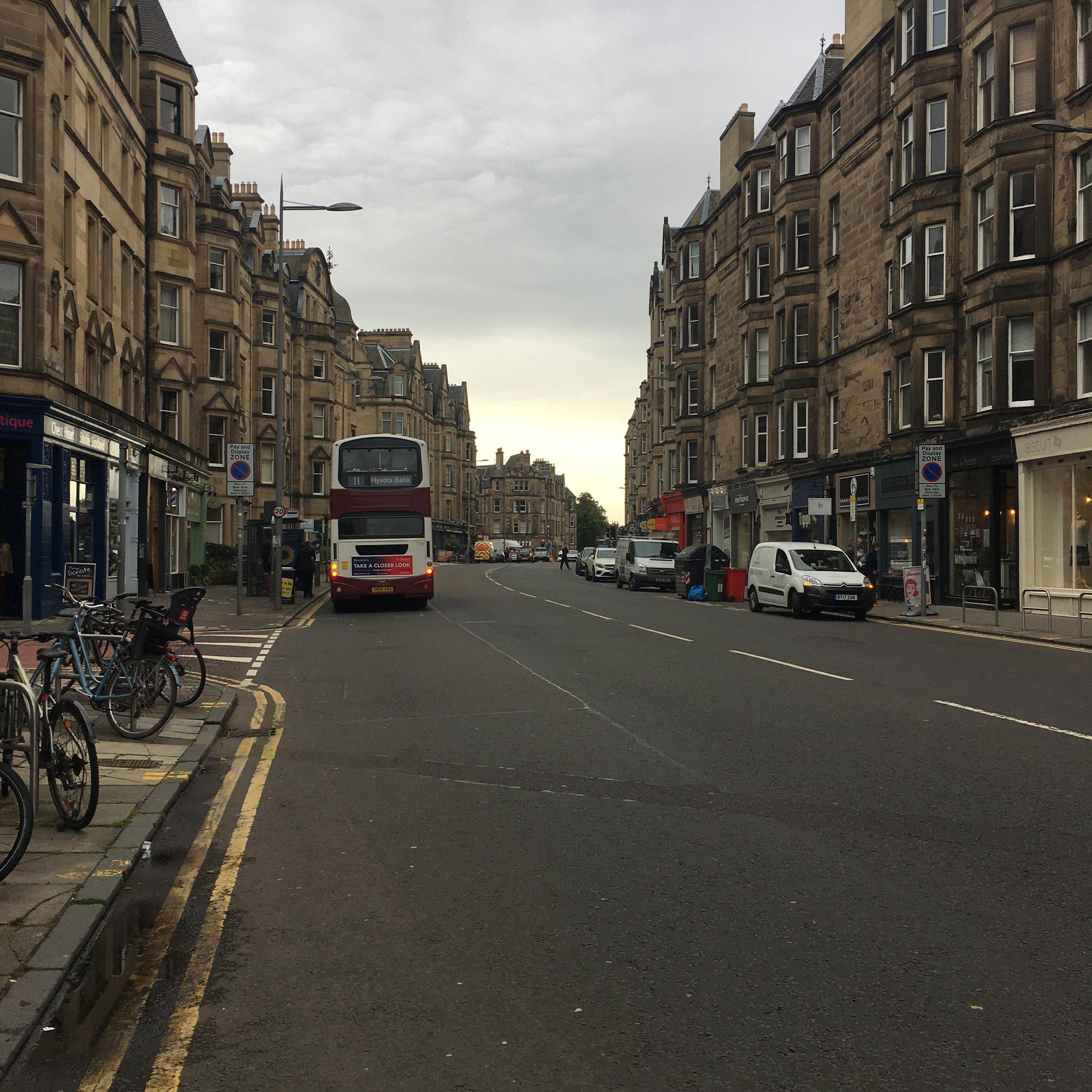 I love Edinburgh.