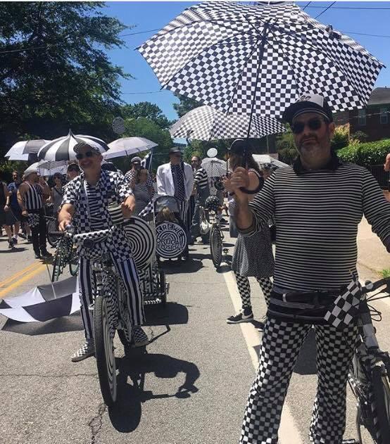 K.O.D. in Atlanta's Inman Park Parade 2019