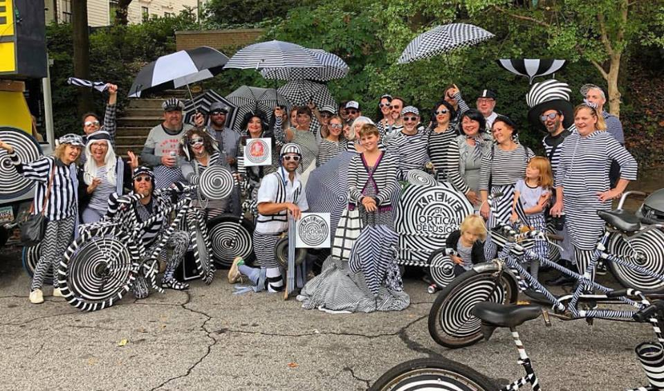 The Krewe at Little 5 Points Halloween Parade 2018