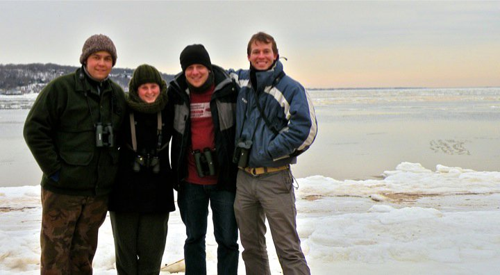 This was taken on a below (way below!) freezing day birding at Sandy Hook National Recreation Area in New Jersey.  Brian Clough, Amy Manning, Bill Lynch, Orion Weldon