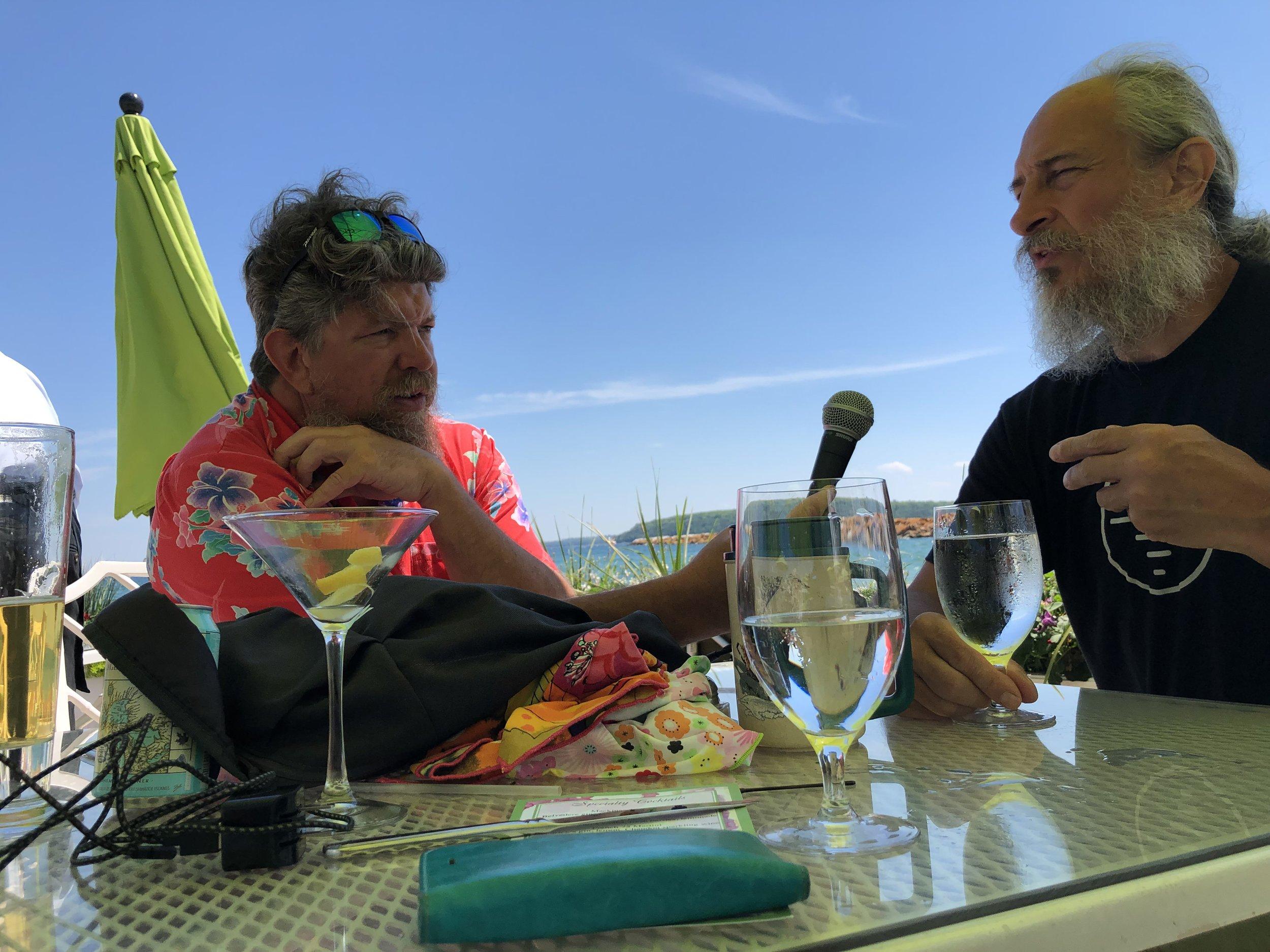 Ted interviewing Kurt Steiner