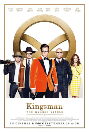 Kingsman: The Golden Circle :   I watched this movie to continue the story from the first Kingsman movie, which I loved. This sequel doesn't live up to the quality of its predecessor, but I still enjoyed the ride. It has a unique style that is a breath of fresh air from most movies today. As whole it is a bit goofy, but the style takes the comic book adaptation seriously. A movie that worth watching if you enjoyed the first one.