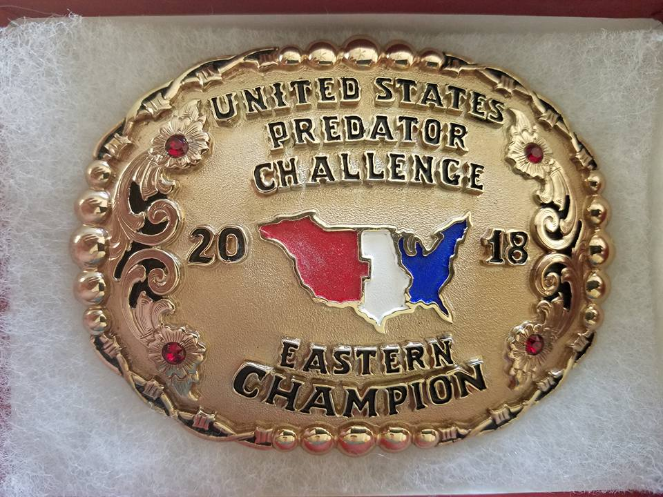 Eastern Champion Buckle.