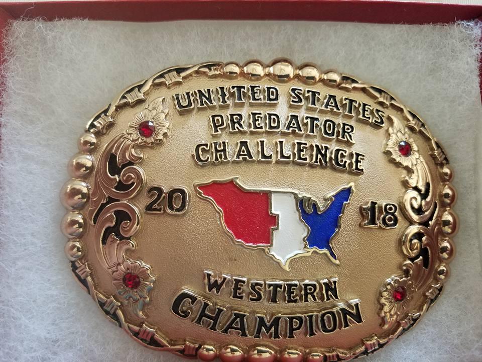 Western Champion Buckle.