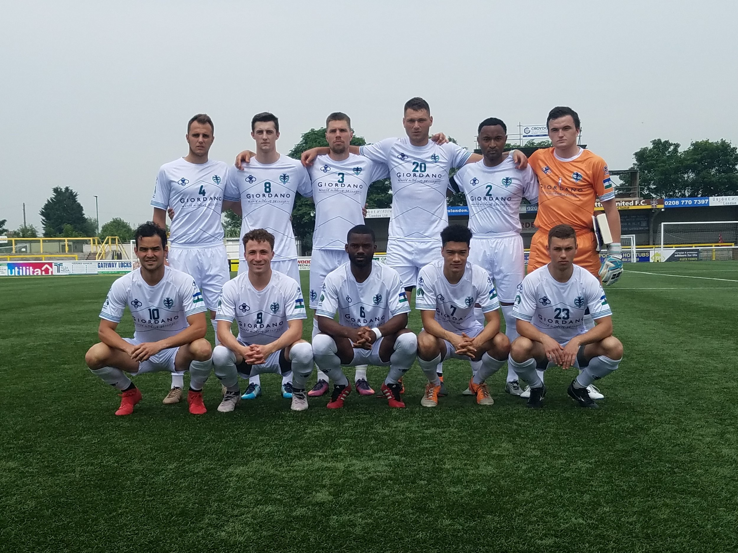 The first Cascadia starting squad. Photo credit: Jay Conrad, Cascadia Underground